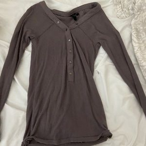 Urban Outfitters mauve long sleeve